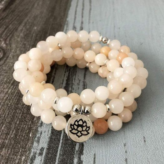 Aventurine 108 Bead Meditation Bracelet - SOUL IMPACTFUL