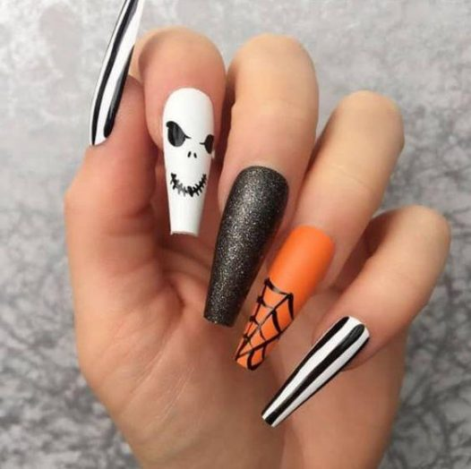 Get Spooky - Pin Inspired - Pretty and Pressed Nails