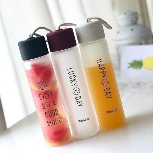 Happy And Hydrated Water Bottle Collection - SOUL IMPACTFUL