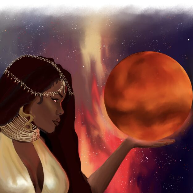 Nubian Martian