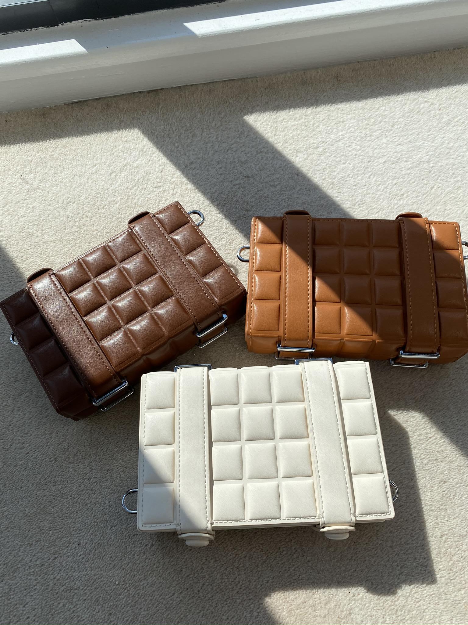 Brea Chocolate Clutch
