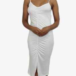 All white dress. Perfect for a casual day. Summer Ready