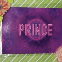 Prince inspired 4x6 postcard