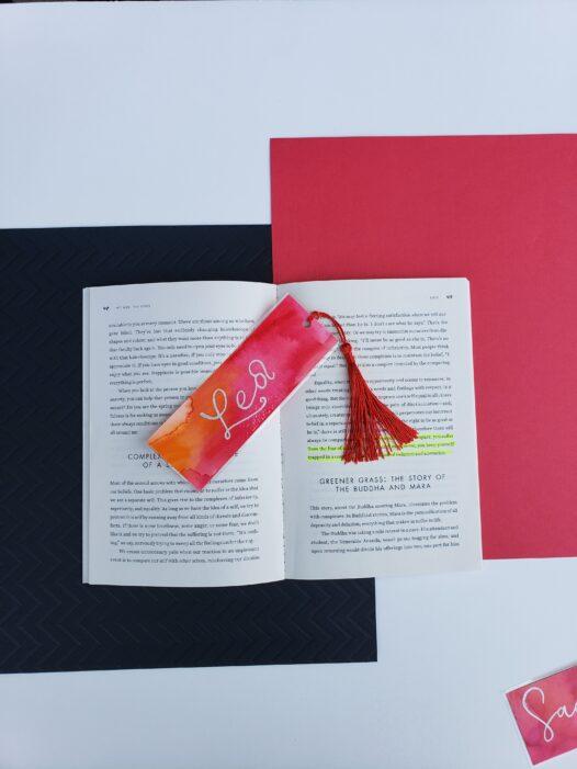 Leo Zodiac Bookmark