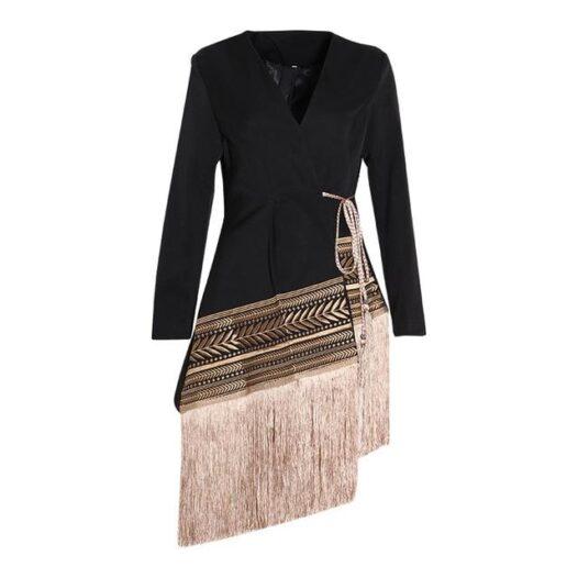 Fringe Binge Dress/Top - Adore Me Lovely
